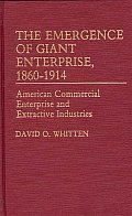 The Emergence of Giant Enterprise, 1860-1914: American Commercial Enterprise and Extractive Industries