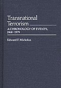 Transnational Terrorism: A Chronology of Events, 1968-1979