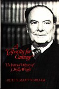 A Capacity for Outrage: The Judicial Odyssey of J. Skelly Wright