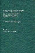 Contemporary Stage Roles for Women: A Descriptive Catalogue