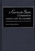 Gertrude Stein Companion Content with the Example