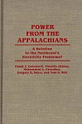 Contributions in Economics and Economic History, #89: Power from the Appalachians: A Solution to the Northeast's Electricity Problems?