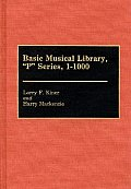 Basic Musical Library, P Series, 1-1000