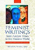 Feminist Writings from Ancient Times to the Modern World [2 Volumes]: A Global Sourcebook and History
