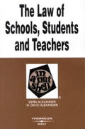 Law Of Schools Students & Teachers In A