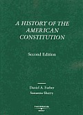 History of American Constitution (2ND 05 - Old Edition)