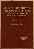 Introduction to the Law of Business Organizations