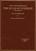 Cases and Materials on the Rules of Evidence (American Casebook) Cover