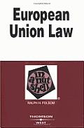 European Union Law In A Nutshell 5th Edition
