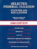 Selected Federal Taxation Statutes & Reg