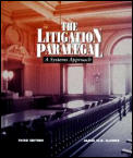 Litigation Paralegal A Systems Appro 3rd Edition