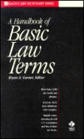 Dictionary of Basic Law Terms (99 Edition)