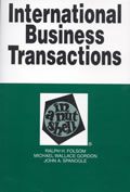 International Business Transactions In A