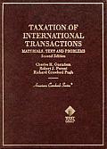 Taxation of international transactions