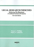 Legal Research Exercises, Following the Bluebook: A Uniform System of Citation, 11th