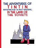 The Adventures of TinTin in the Land of the Soviets (Adventures of Tintin (Paperback)) Cover