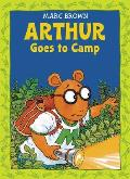 Arthur Goes to Camp with Sticker (Arthur Adventures) Cover