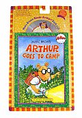 Arthur Goes to Camp with CD (Audio) (Arthur Adventures) Cover