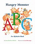 Hungry Monster ABC An Alphabet Book With Punch Out Flash Cards