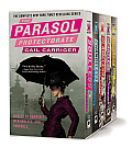 The Parasol Protectorate Boxed Set: Soulless, Changeless, Blameless, Heartless and Timeless Cover