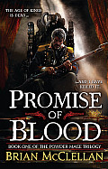 Powder Mage Trilogy #01: Promise of Blood Cover