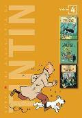 Tintin 3in1 Volume 4 Adventures of Tintin