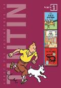 Adventures of Tintin, Volume 1(Tintin in America / Cigars of the Pharaoh / The Blue Lotus)