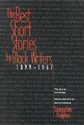Best Short Stories by Black Writers 1899 1967