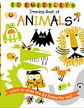 Ed Emberley's Drawing Book of Animals (Ed Emberley Drawing Books) Cover