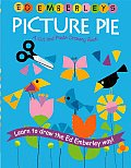 Ed Emberleys Picture Pie a Cut & Paste Drawing Book