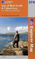 Isle of Mull North & Tobermory 1 : 25 000