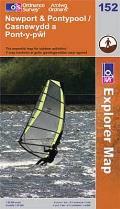 Newport & Pontypool / Casnewydd a Pont-y-pwl 1 : 25 000