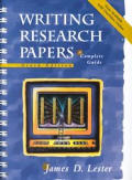 Writing Research Papers 9th Edition A Complete G