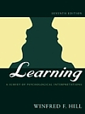 Learning : a Survey of Psychological Interpretations (7TH 02 Edition)