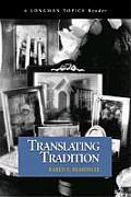 Translating Tradition (04 Edition) Cover