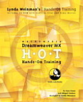 Macromedia Dreamweaver MX Hands-On Training with CDROM (Lynda Weinman's Hands-On Training)