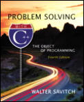 Problem Solving With C++ 4th Edition The Object