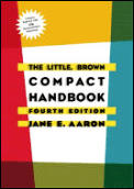 Little Brown Compact Handbook 4th Edition