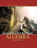 Beginning and Intermediate Algebra Cover