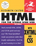 HTML For The World Wide Web with XHTML & CSS Visual Quickstart Guide 5th Edition