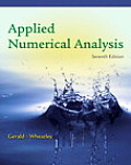 Applied Numerical Analysis (7TH 04 Edition)
