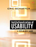 Institutionalization of Usability: A Step-By-Step Guide Cover