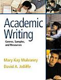 Academic Writing: Genres, Samples, and Resources