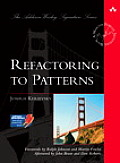 Refactoring to Patterns (Addison-Wesley Signature Series) Cover