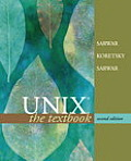 Unix the Textbook 2ND Edition