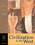 Civilization in the West, Volume II (Chapters 14-30)