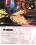 Apple Pro Training Series: Motion (Apple Pro Training) Cover