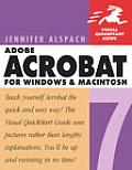 Adobe Acrobat 7 for Windows & Macintosh Visual QuickStart Guide