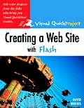 Creating a Web Site with Flash Visual Quickproject Guide