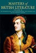 Masters of British Literature, Volume B (08 Edition)